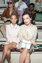 Nicole Richie and Emma MacKey - Miu Miu Club Event at Hippodrome d'Auteuil in Paris