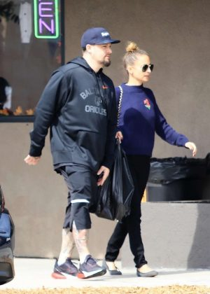 Nicole Richie and Joel Madden - Out in Burbank