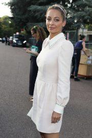 Nicole Richie - Arriving at Miu Miu Resort 2020 Show in Paris