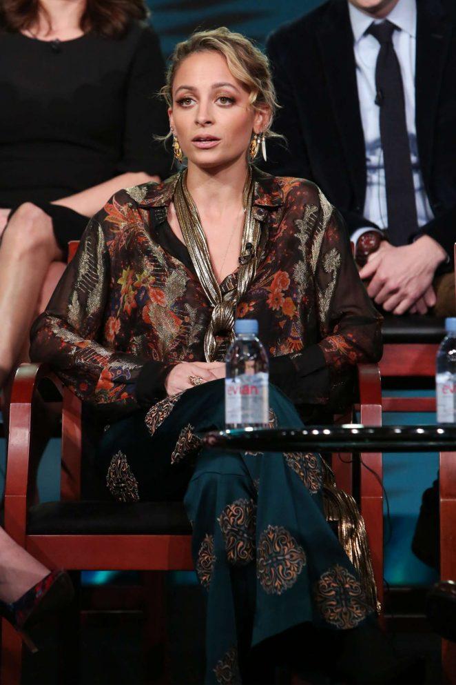 Nicole Richie – 'Great News' Panel at 2017 TCA Winter Press Tour in Pasadena