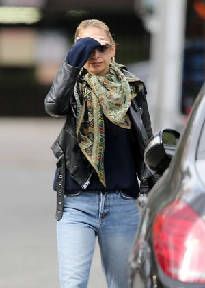 Nicole Richie in Jeans out in Los Angeles