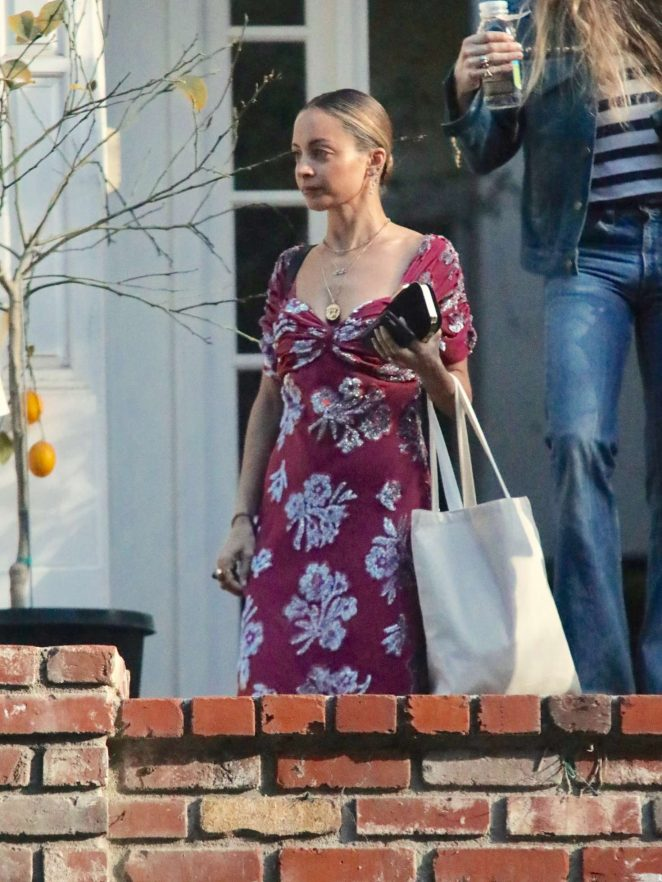 Nicole Richie -  Leaving a friends house in Beverly Hills