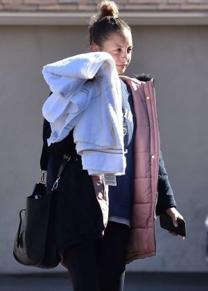 Nicole Richie - Leaving a ing yoga class in Sherman Oaks