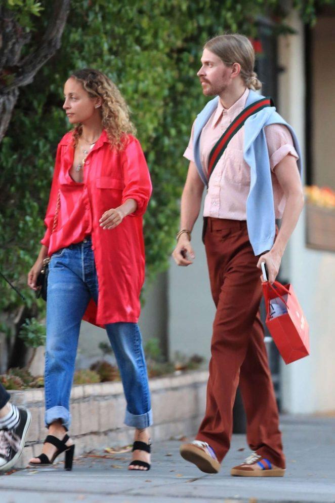 Nicole Richie - Leaving Matsuhisa Japanese restaurant in Beverly Hills