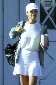 Nicole Richie - Out for some tennis at the Brentwood Country Club