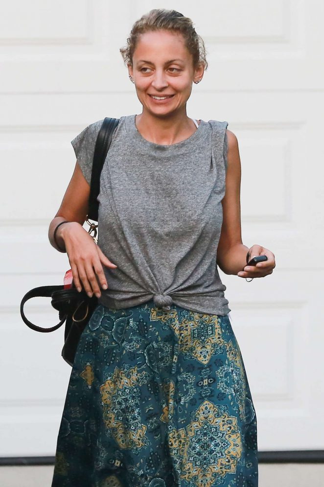 Nicole Richie out in West Hollywood