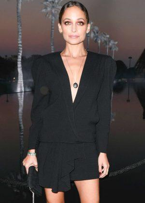 Nicole Richie Saint Laurent Fashion Show In Paris Gotceleb