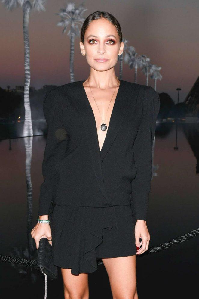Nicole Richie - Saint Laurent Fashion Show in Paris
