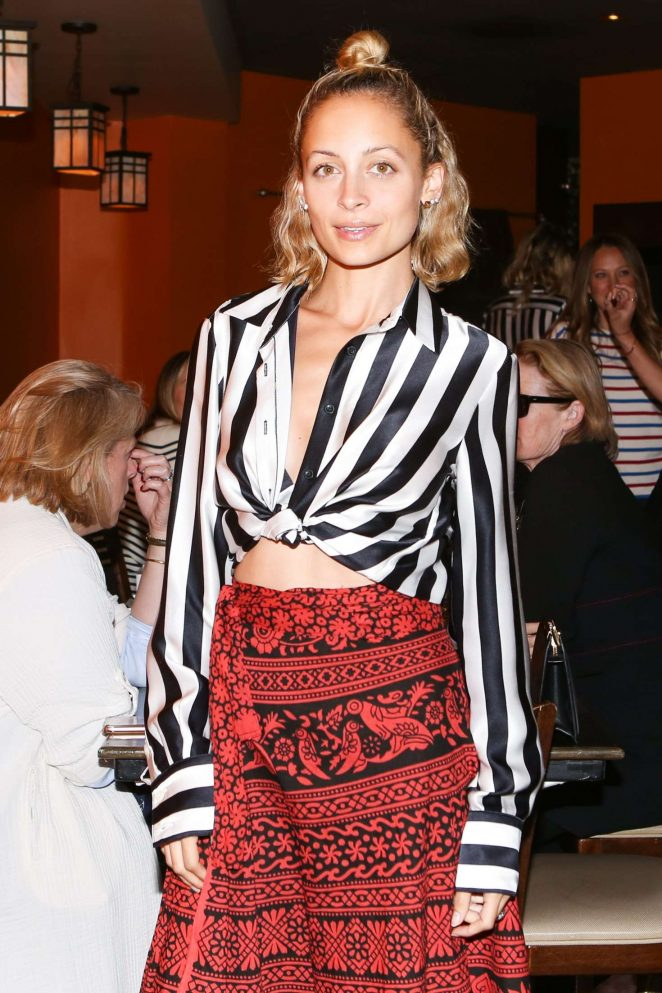 Nicole Richie – Theory x La Ligne Cocktails in Los Angeles