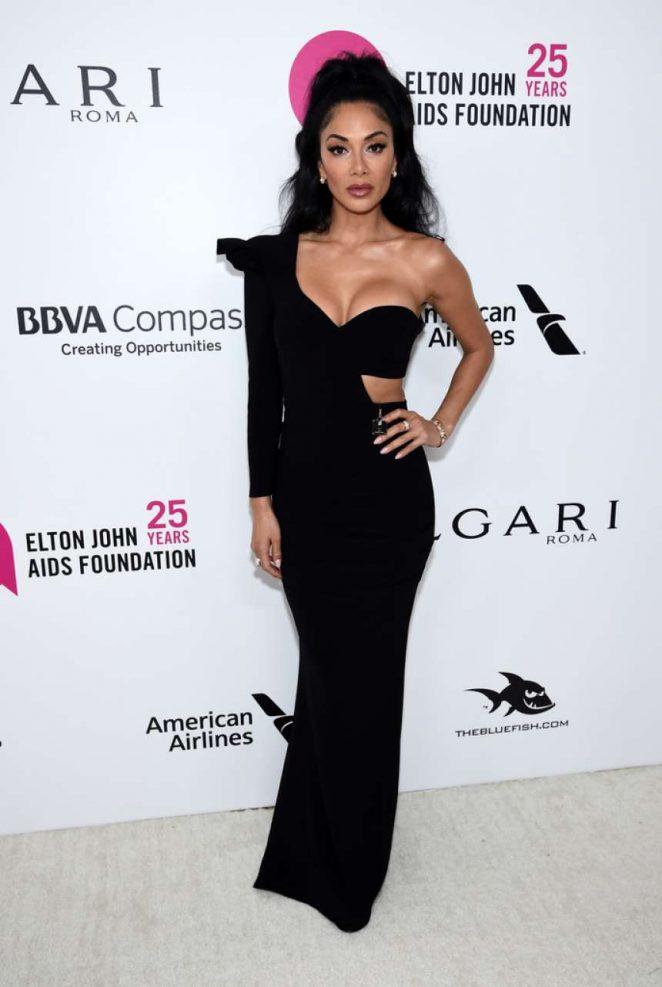 Nicole Scherzinger - 2018 Elton John AIDS Foundation's Oscar Viewing Party in West Hollywood
