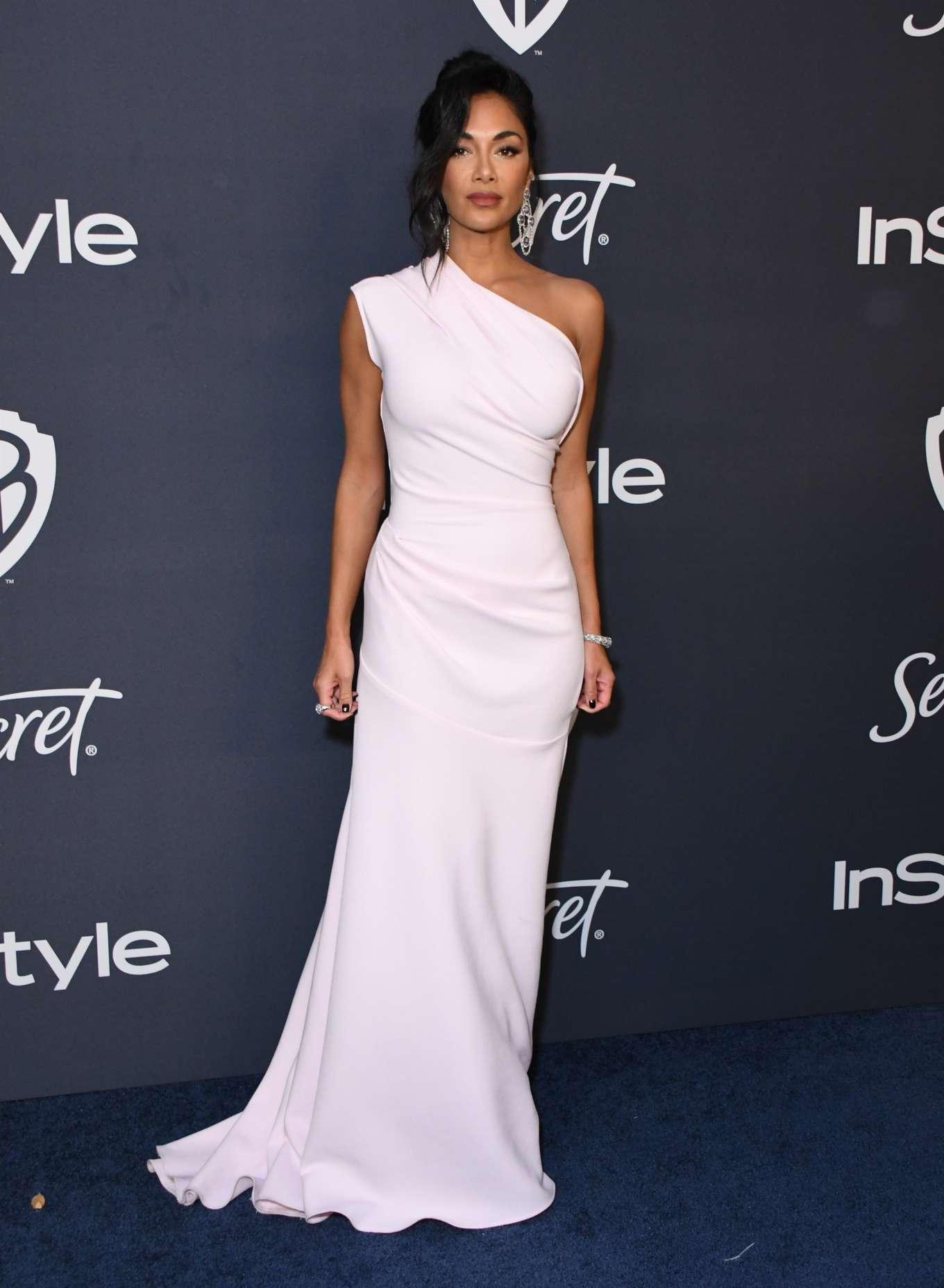 Nicole Scherzinger - 2020 InStyle and Warner Bros Golden Globes Party in Beverly Hills