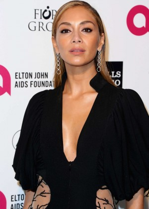 Nicole Scherzinger - Oscars 2015 - Elton John AIDS Foundation Academy Awards Party