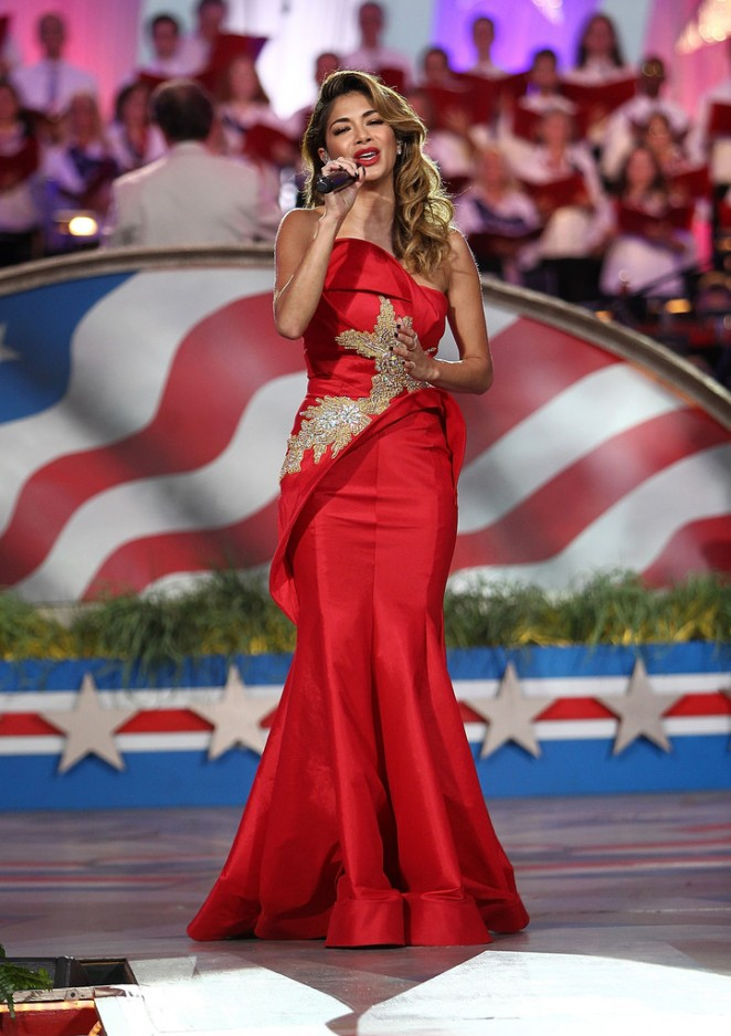 Nicole Scherzinger: A Capitol Fourth 2015 Independence Day Concert -05