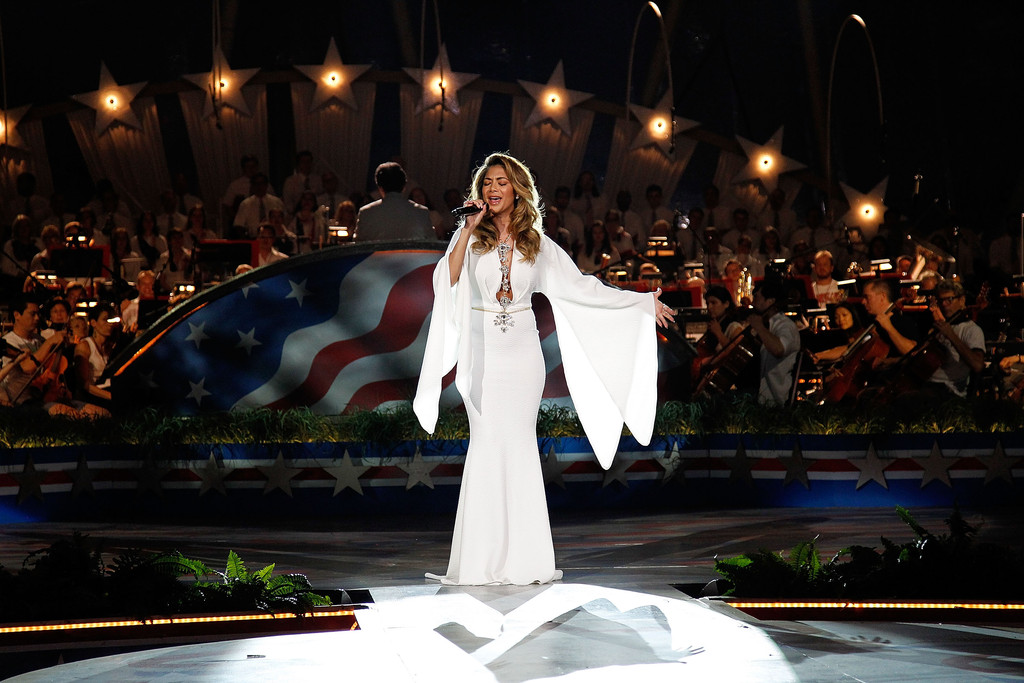 Nicole Scherzinger: A Capitol Fourth 2015 Independence Day Concert -06