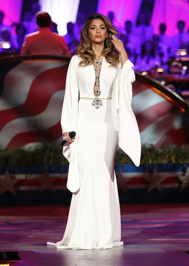 Nicole Scherzinger: A Capitol Fourth 2015 Independence Day Concert -08