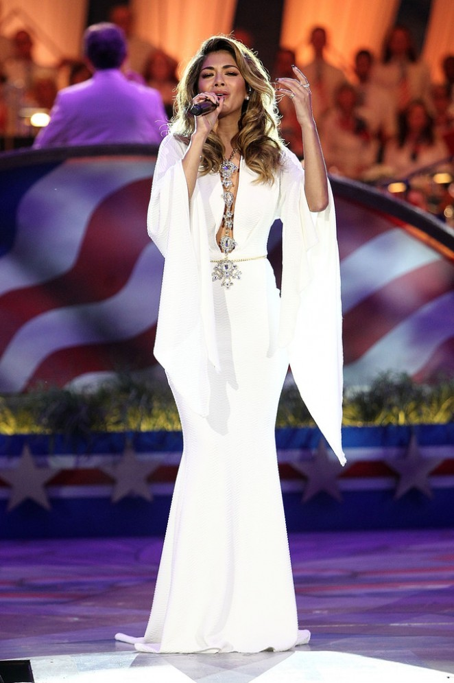 Nicole Scherzinger: A Capitol Fourth 2015 Independence Day Concert -11
