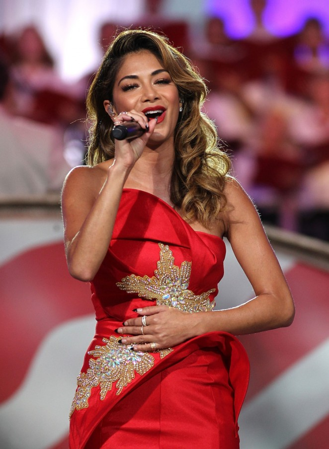 Nicole Scherzinger: A Capitol Fourth 2015 Independence Day Concert -14