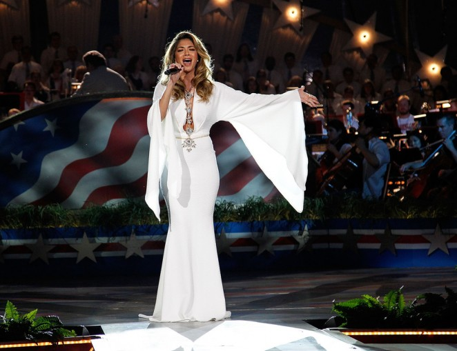 Nicole Scherzinger: A Capitol Fourth 2015 Independence Day Concert -15