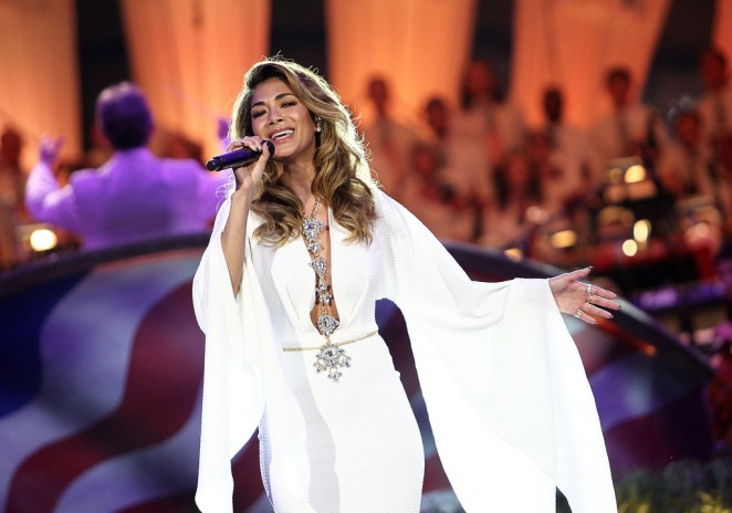 Nicole Scherzinger: A Capitol Fourth 2015 Independence Day Concert -16
