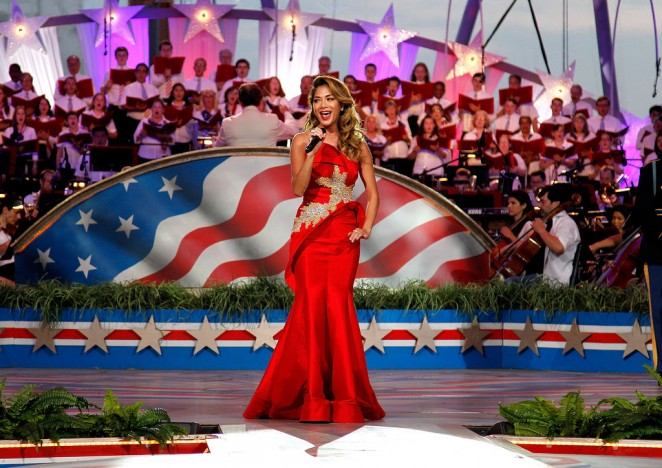 Nicole Scherzinger: A Capitol Fourth 2015 Independence Day Concert -17