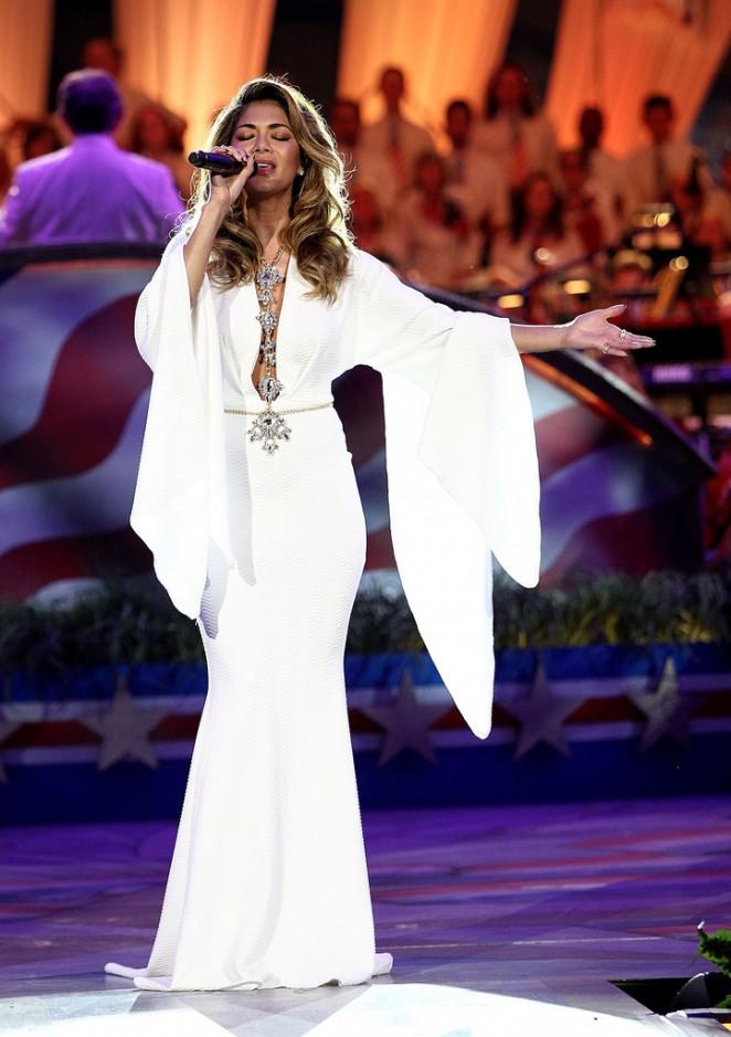 Nicole Scherzinger - A Capitol Fourth 2015 Independence Day Concert in Washington