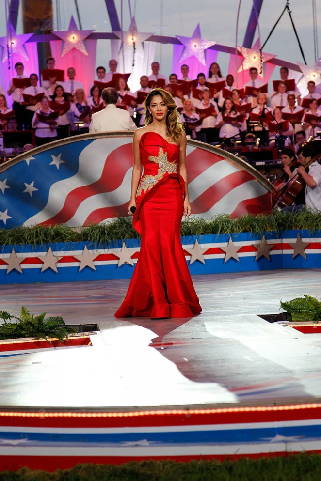 Nicole Scherzinger: A Capitol Fourth 2015 Independence Day Concert -23