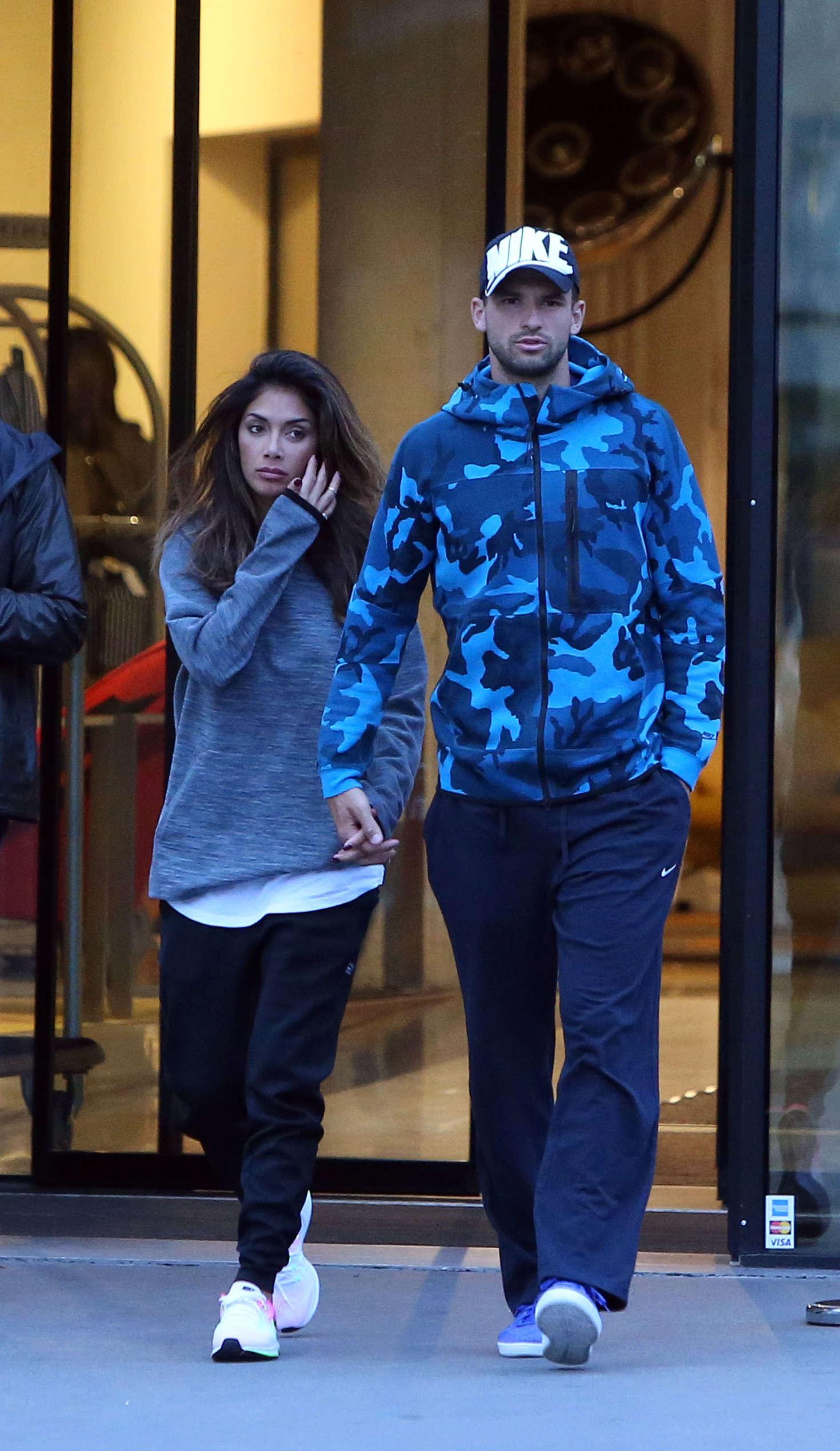 Nicole Scherzinger And Grigor Dimitrov Out In Paris 16