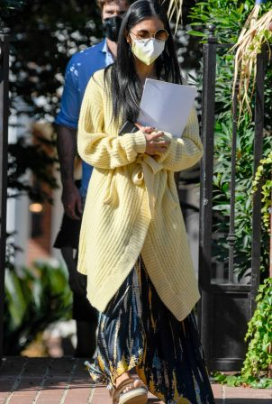 Nicole Scherzinger and Thom Evans - House Hunting in Los Angeles
