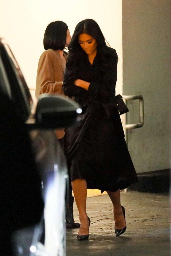 Nicole Scherzinger and Thom Evans - Leaves E Baldi Restaurant in Beverly Hills