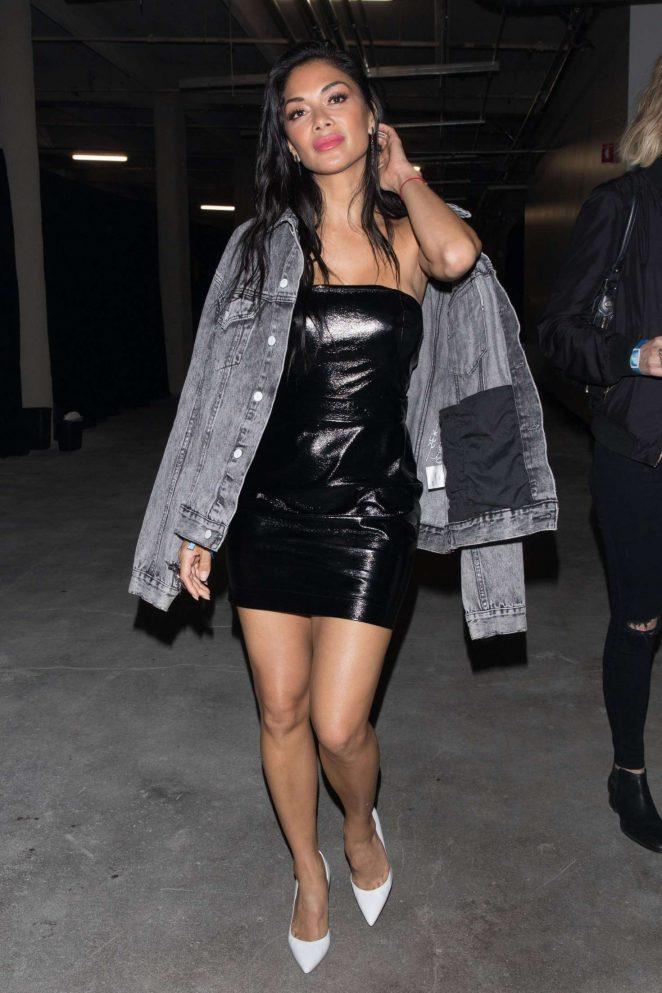 Nicole Scherzinger - Arrives at Adidas All Star Weekend in Los Angeles