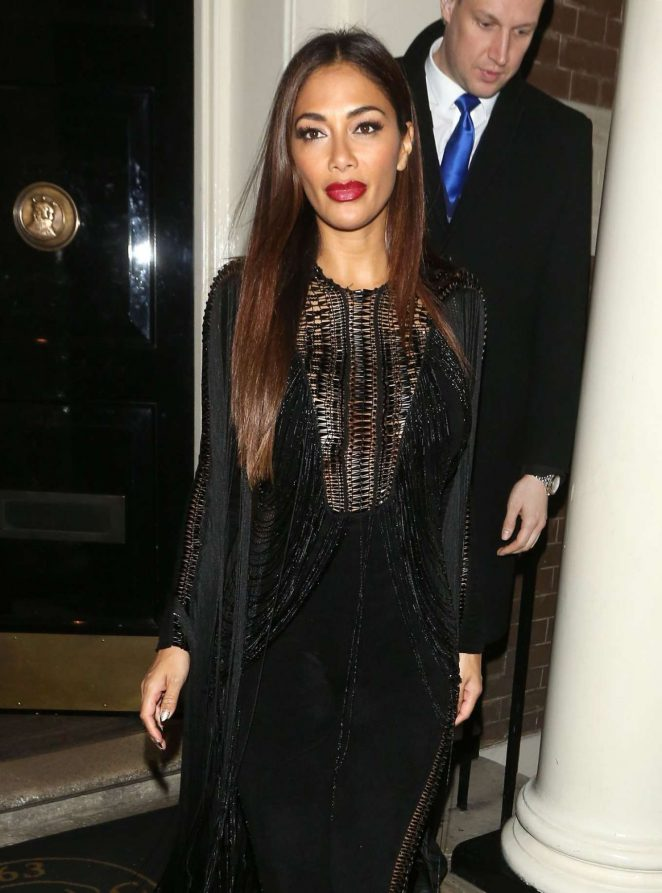 Nicole Scherzinger - Arrives at Arts Club in Mayfair