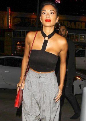 Nicole Scherzinger - Arrives at 'Beauty & Essex' in Hollywood