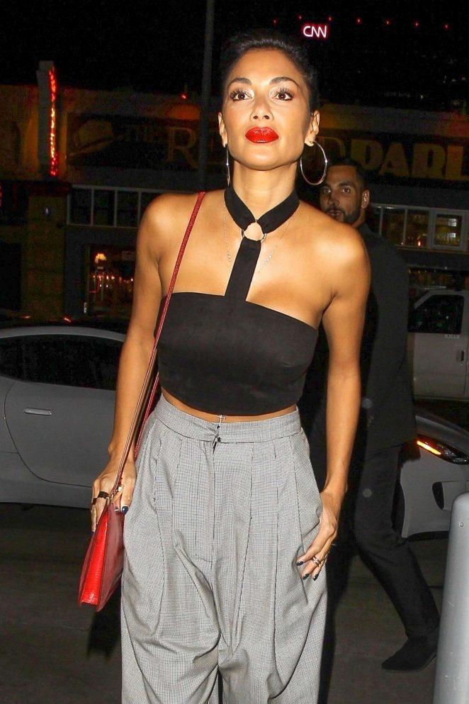 Nicole Scherzinger – Arrives at 'Beauty & Essex' in Hollywood