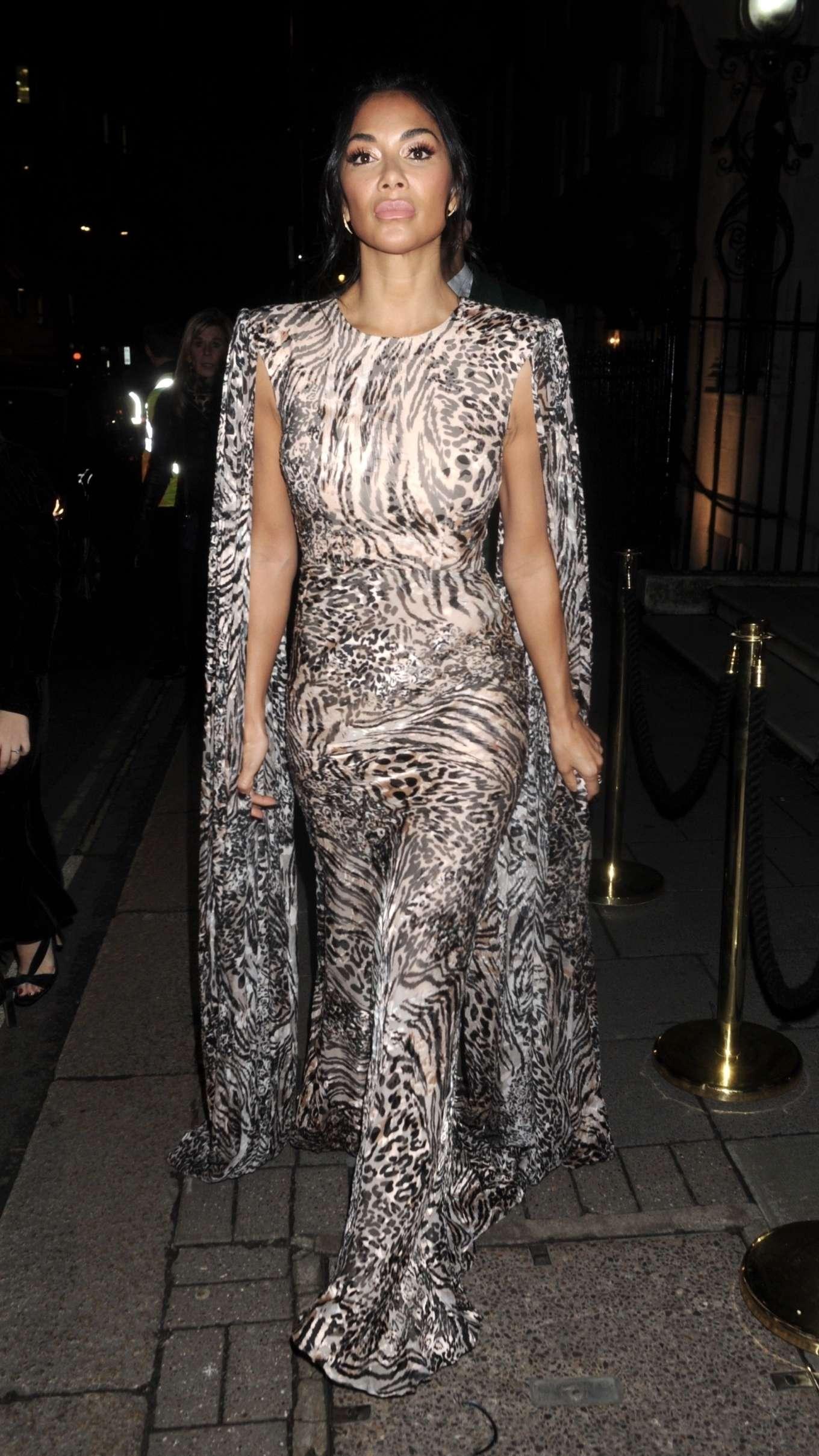 Nicole Scherzinger 2020 : Nicole Scherzinger – Arrives at British Vogues Fashion and Film Party 2020-01
