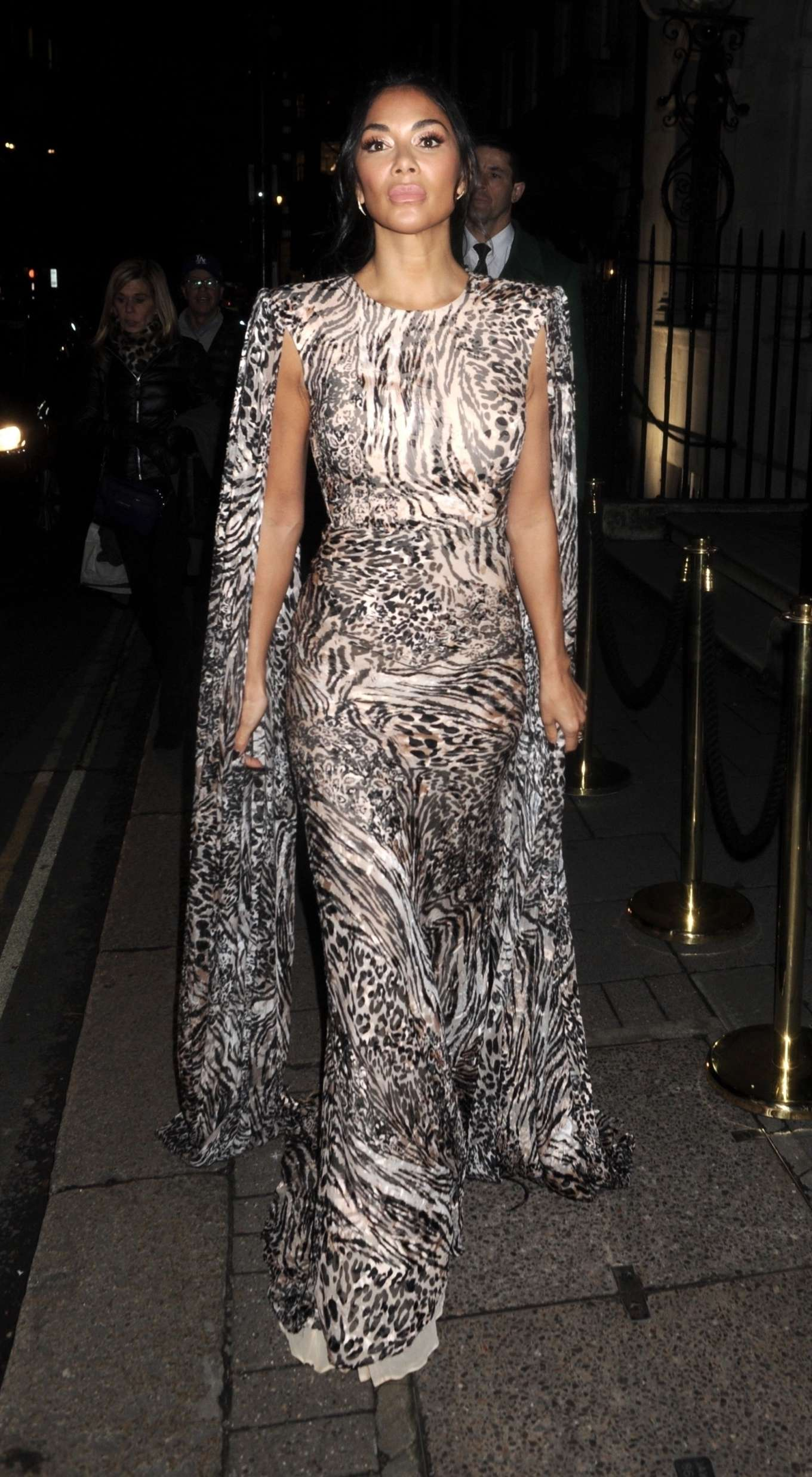 Nicole Scherzinger 2020 : Nicole Scherzinger – Arrives at British Vogues Fashion and Film Party 2020-02