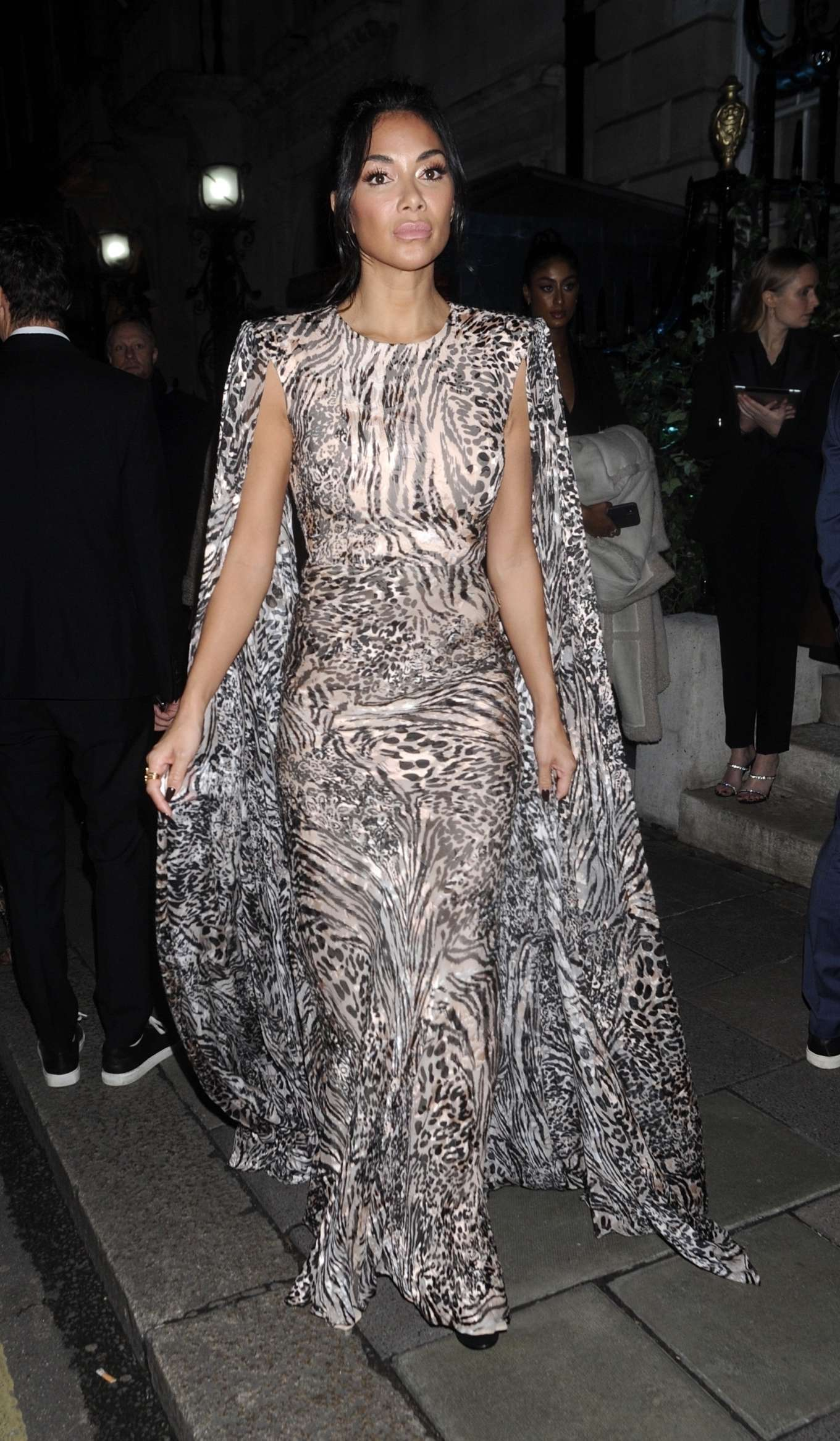Nicole Scherzinger 2020 : Nicole Scherzinger – Arrives at British Vogues Fashion and Film Party 2020-05