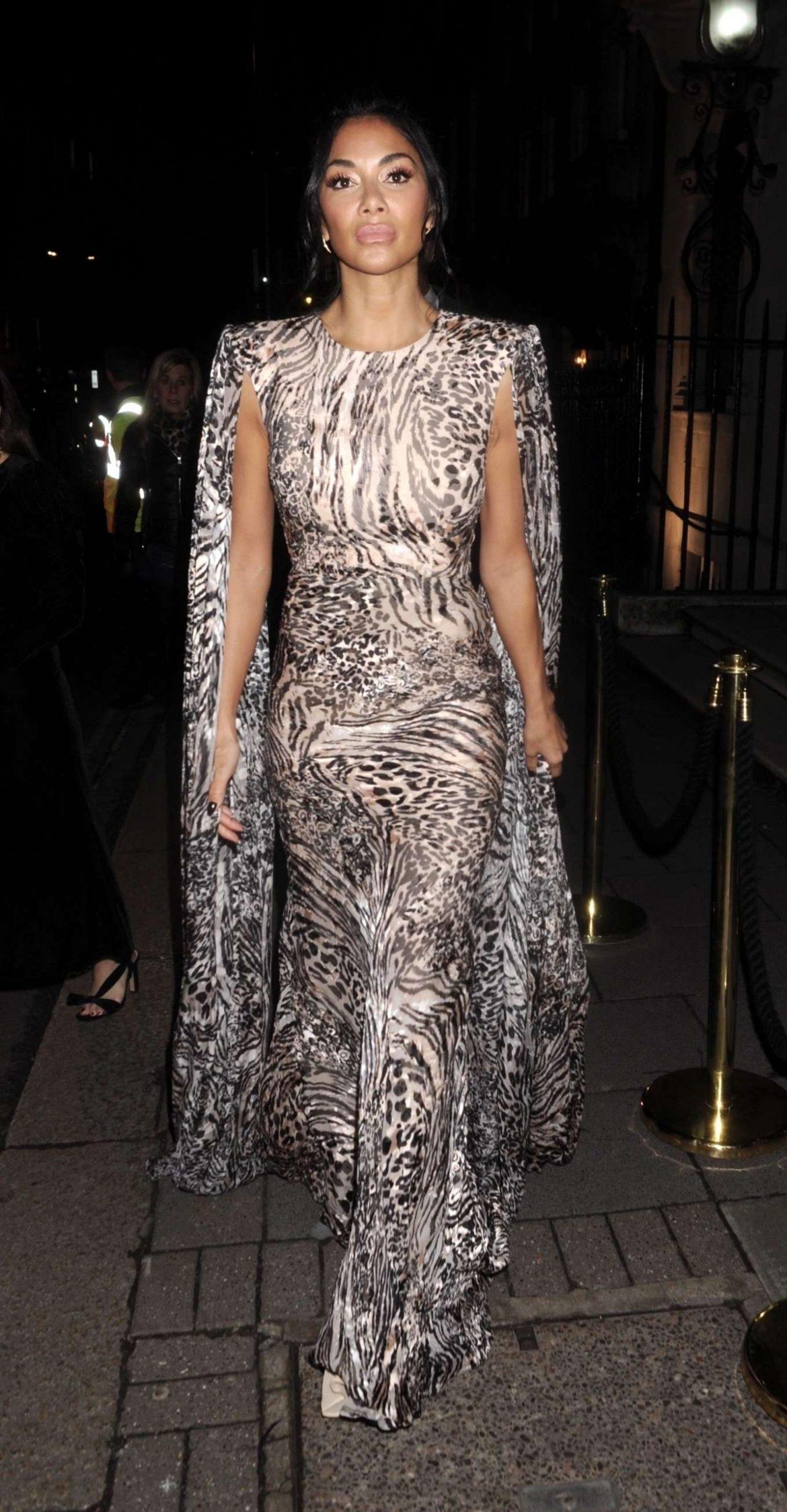 Nicole Scherzinger 2020 : Nicole Scherzinger – Arrives at British Vogues Fashion and Film Party 2020-06