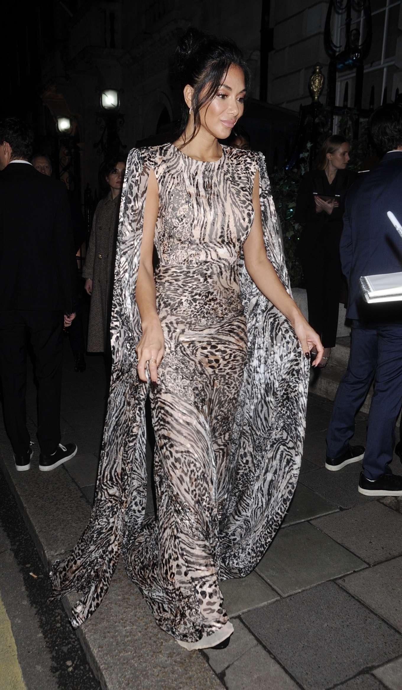 Nicole Scherzinger 2020 : Nicole Scherzinger – Arrives at British Vogues Fashion and Film Party 2020-07