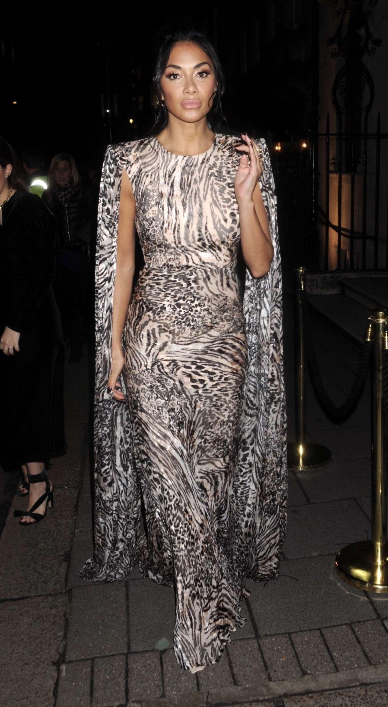 Nicole Scherzinger 2020 : Nicole Scherzinger – Arrives at British Vogues Fashion and Film Party 2020-08