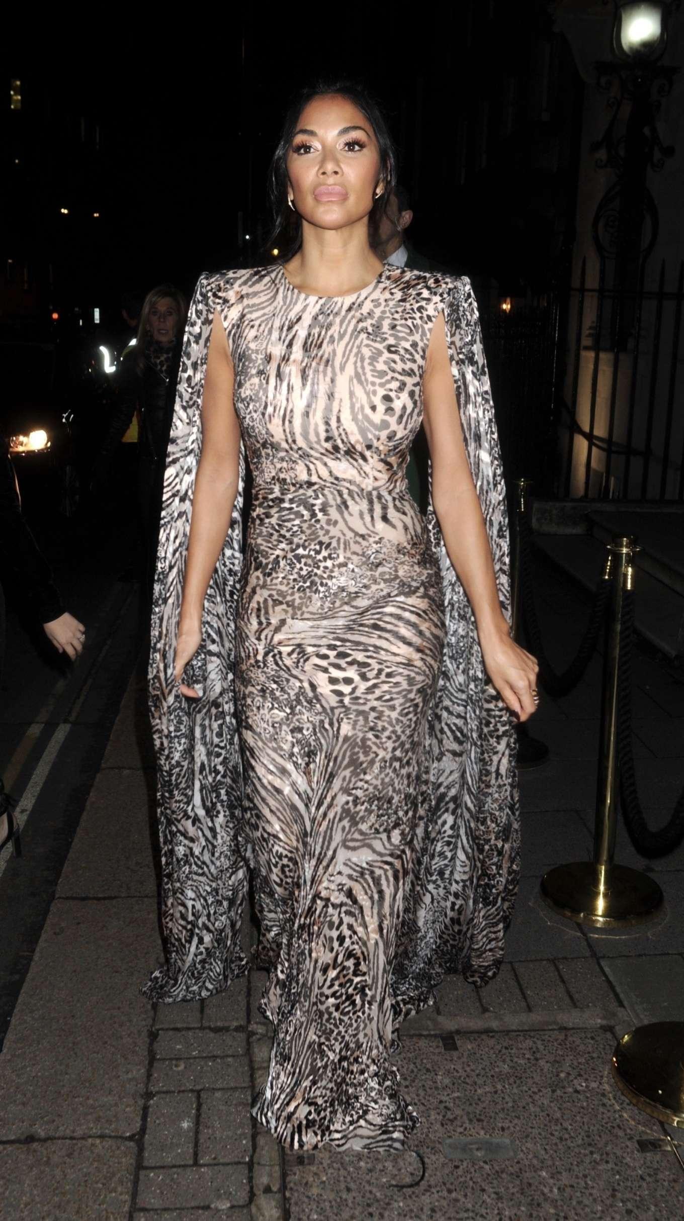 Nicole Scherzinger 2020 : Nicole Scherzinger – Arrives at British Vogues Fashion and Film Party 2020-09