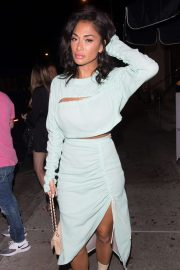 Nicole Scherzinger - Arrives at Catch Restaurant in Los Angeles