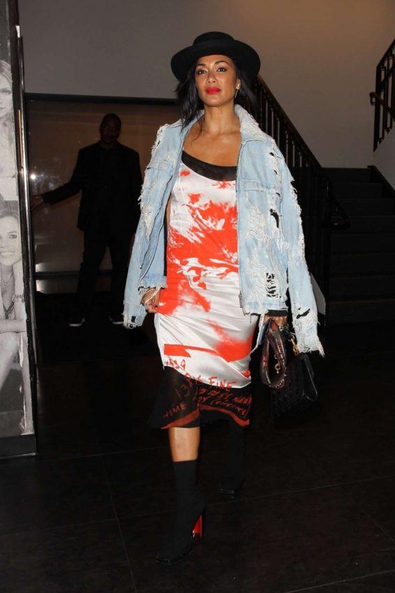 Nicole Scherzinger - Arrives at Catch Restaurant in West Hollywood