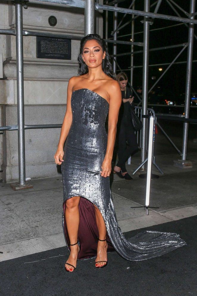Nicole Scherzinger - Arrives at Harper's Bazaar ICONS Party in New York