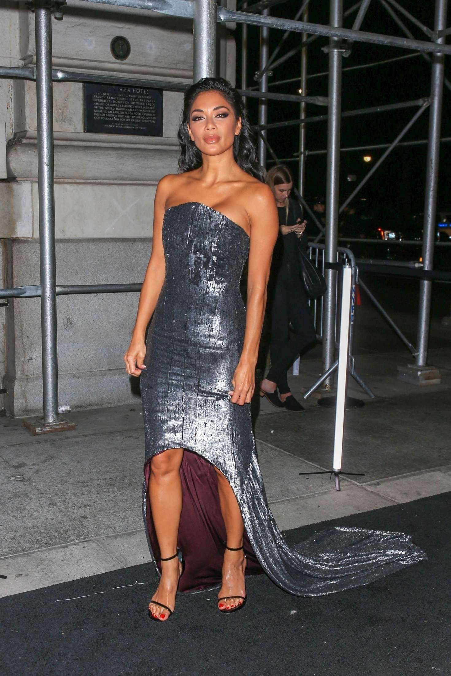 Nicole Scherzinger - Arrives at Harper's Bazaar ICONS Party in New York