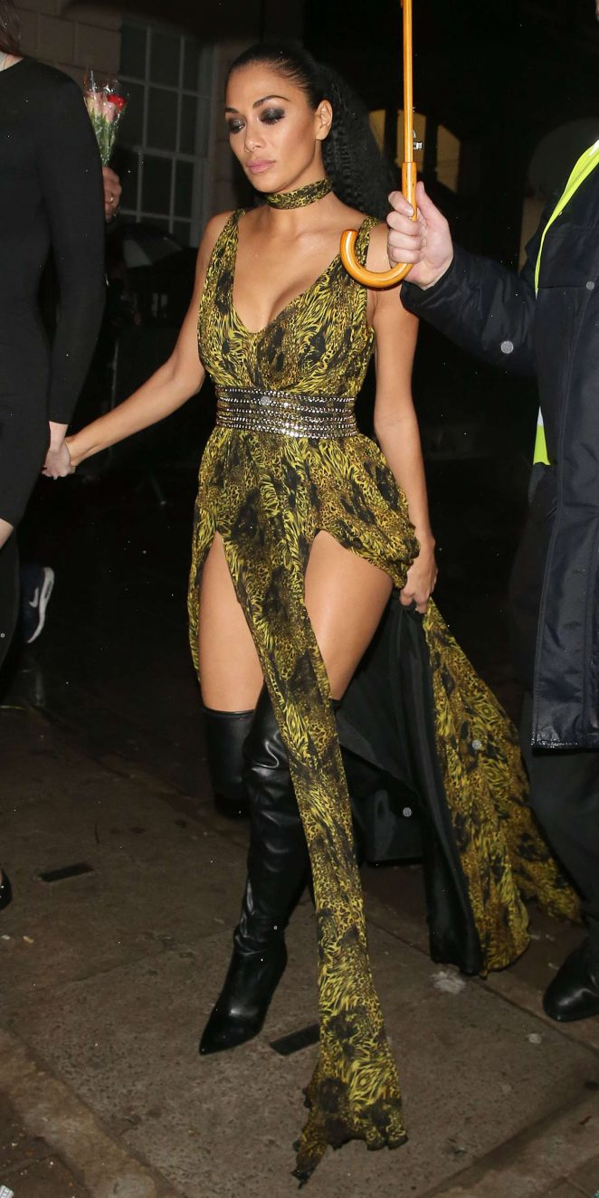 Nicole Scherzinger Arrives at Tape Night Club in London