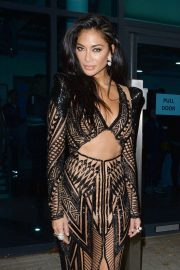 Nicole Scherzinger - Arrives at The Celebrity X Factor Studios in London