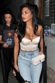 Nicole Scherzinger - Arrives at the Troubadour in Los Angeles