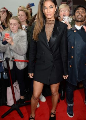 Nicole Scherzinger - Arrives for X Factor in Manchester