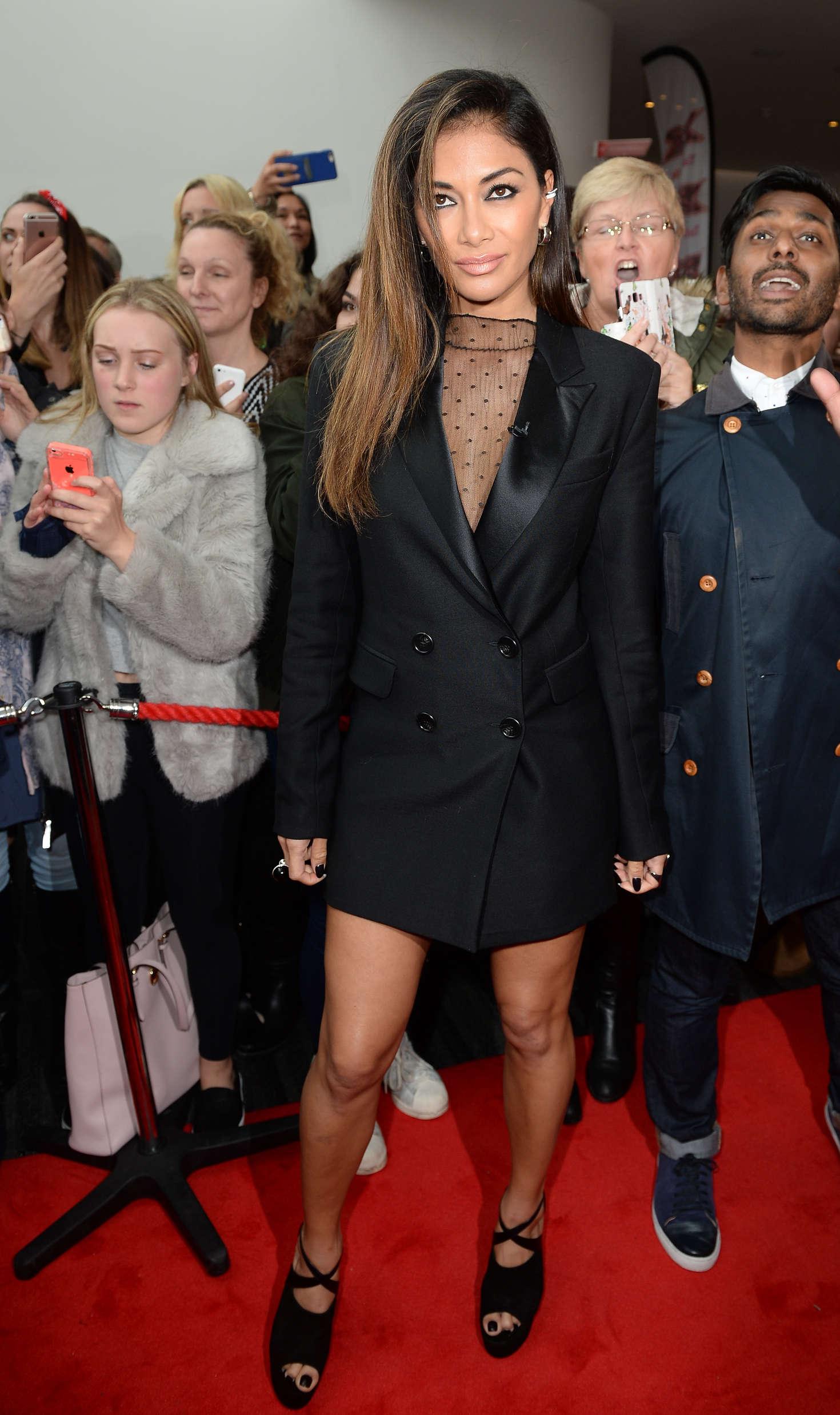 Nicole Scherzinger - Arrives for X Factor in Manchester
