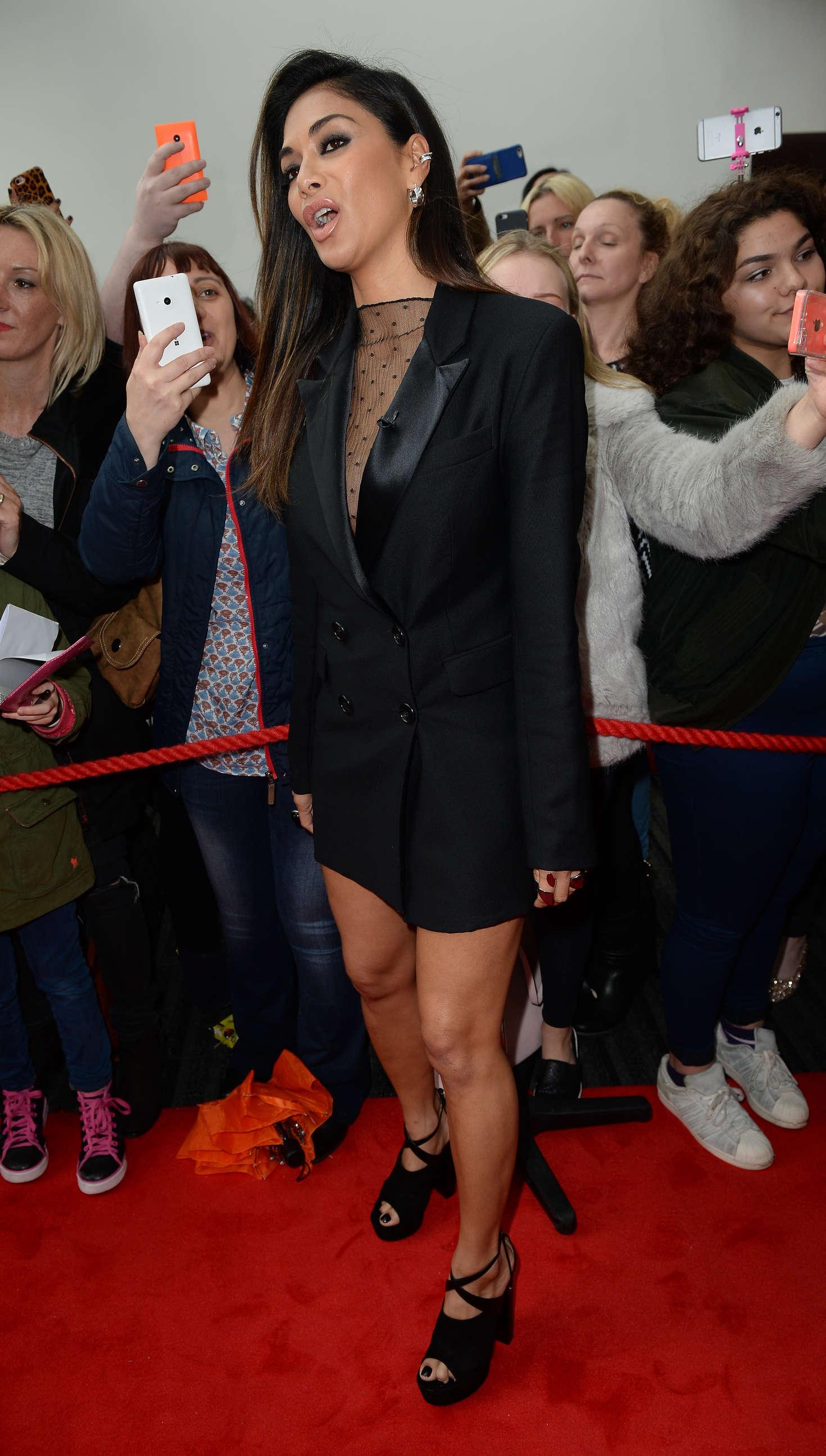 Nicole Scherzinger 2016 : Nicole Scherzinger: Arrives for X Factor in Manchester -06
